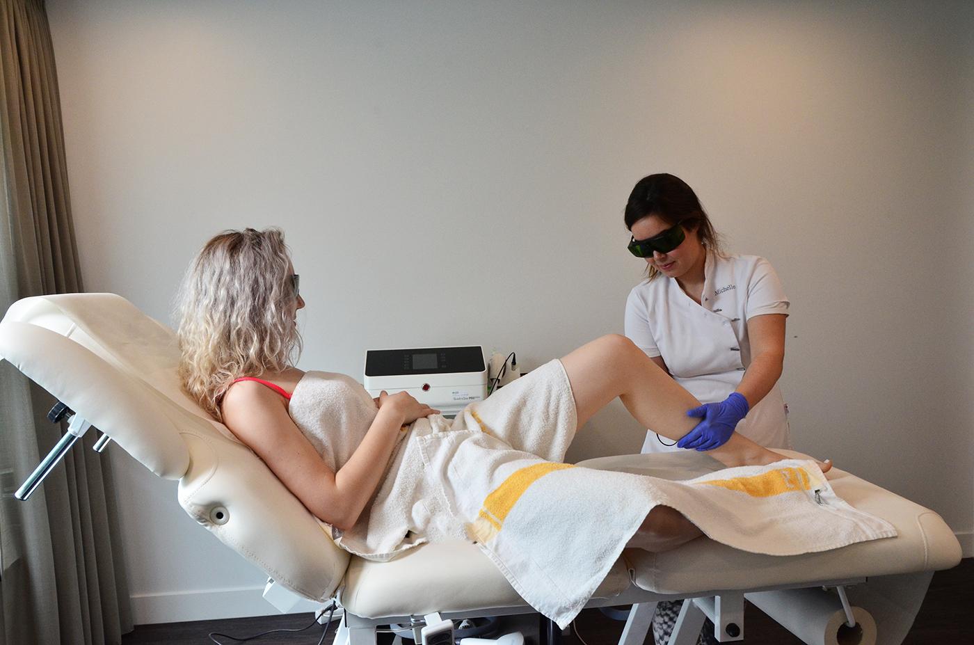 Het geheim van een laserbehandeling
